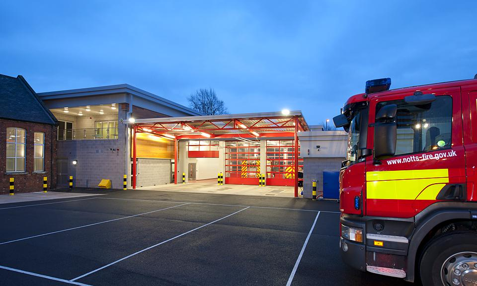 Image of Carlton Fire Station, Nottinghamshire