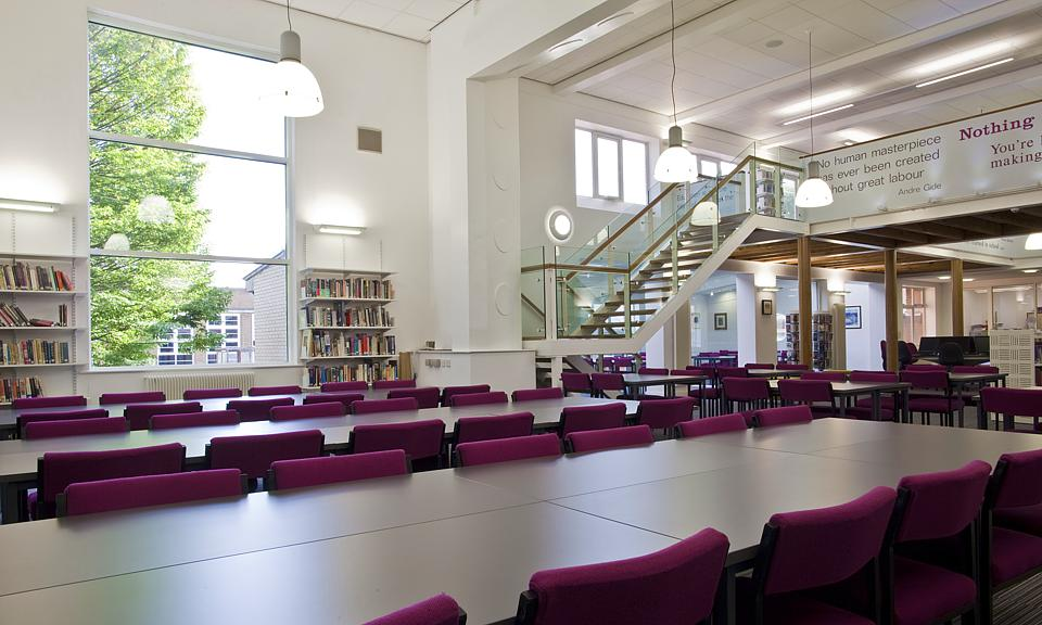 Apollo Lighting Ltd Franklin College Library Grimsby