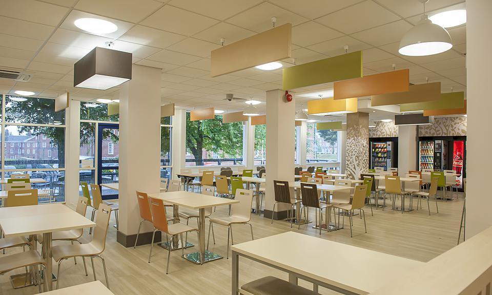 Apollo Lighting Ltd Leeds Beckett University Food Court