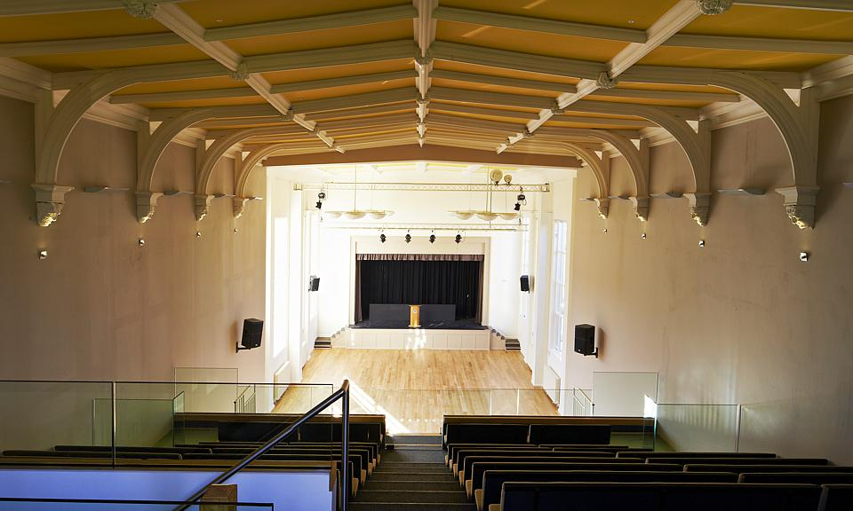 Apollo Lighting Ltd St Peters School Memorial Hall York