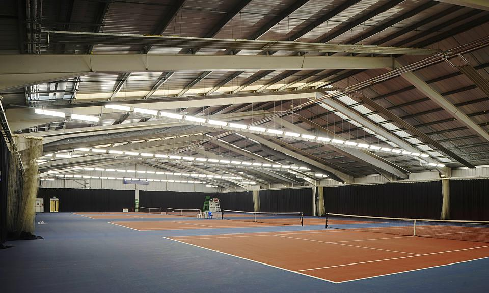Image of Stirling University Tennis Centre, Cramond Building