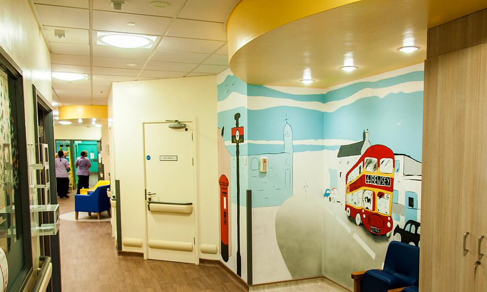 Apollo Lighting Ltd Warrington Hospital Forget Me Not