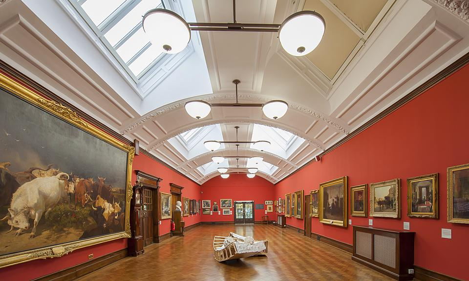 Image of Beverley Art Gallery, East Riding installation