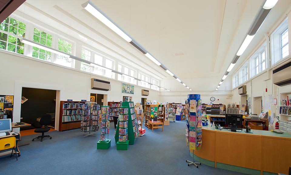 Image of Buxton Library, Derbyshire