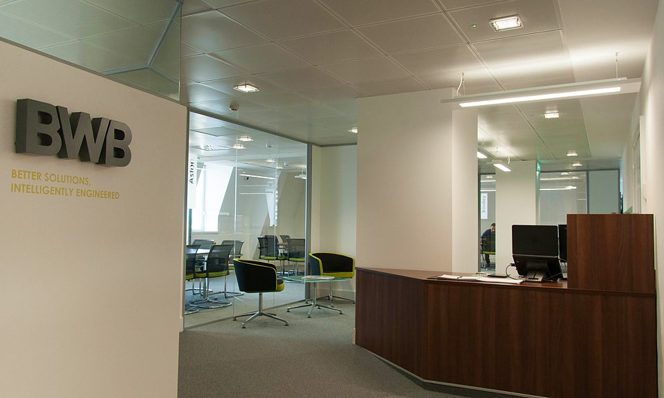 Image of BWB Consulting Offices, Birmingham installation