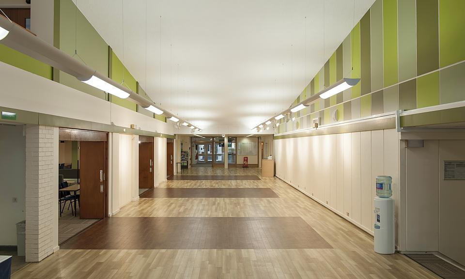 Image of Keele University, Foyer, Staffordshire