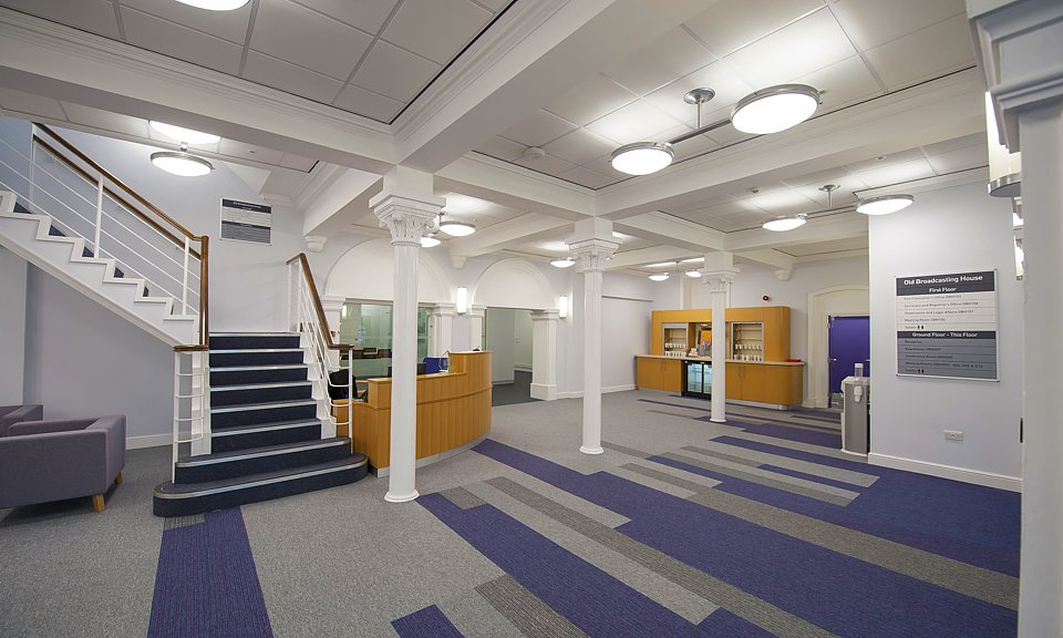 Image of Leeds Beckett University, Old Broadcasting House installation