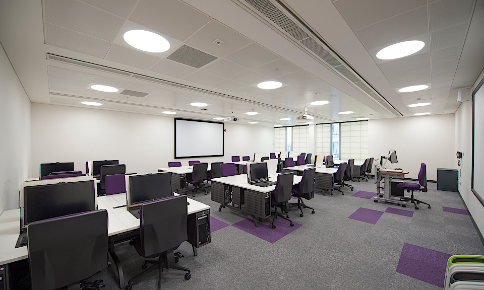Image of Manchester Metropolitan University, John Dalton Computer Science Labs