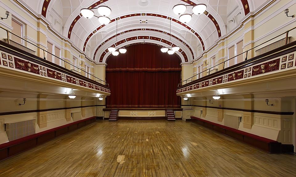 Image of Pontefract Town Hall installation