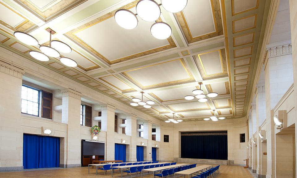 Image of University Of Nottingham, Trent Building, Great Hall installation