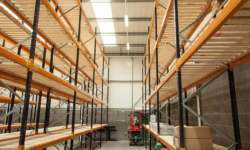 Image of Warehouse, Stoke-on-Trent installation
