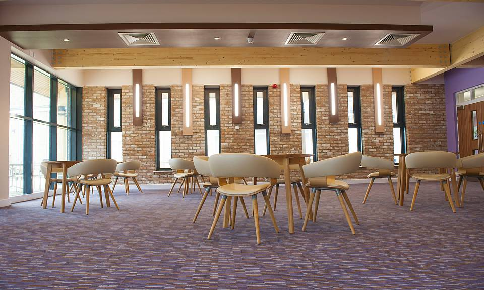 Image of York St John University, Dining Room Extension