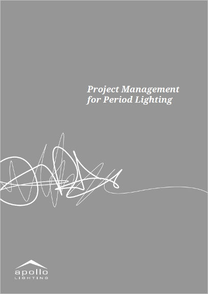 Image for Project Management for Period Lighting 2016